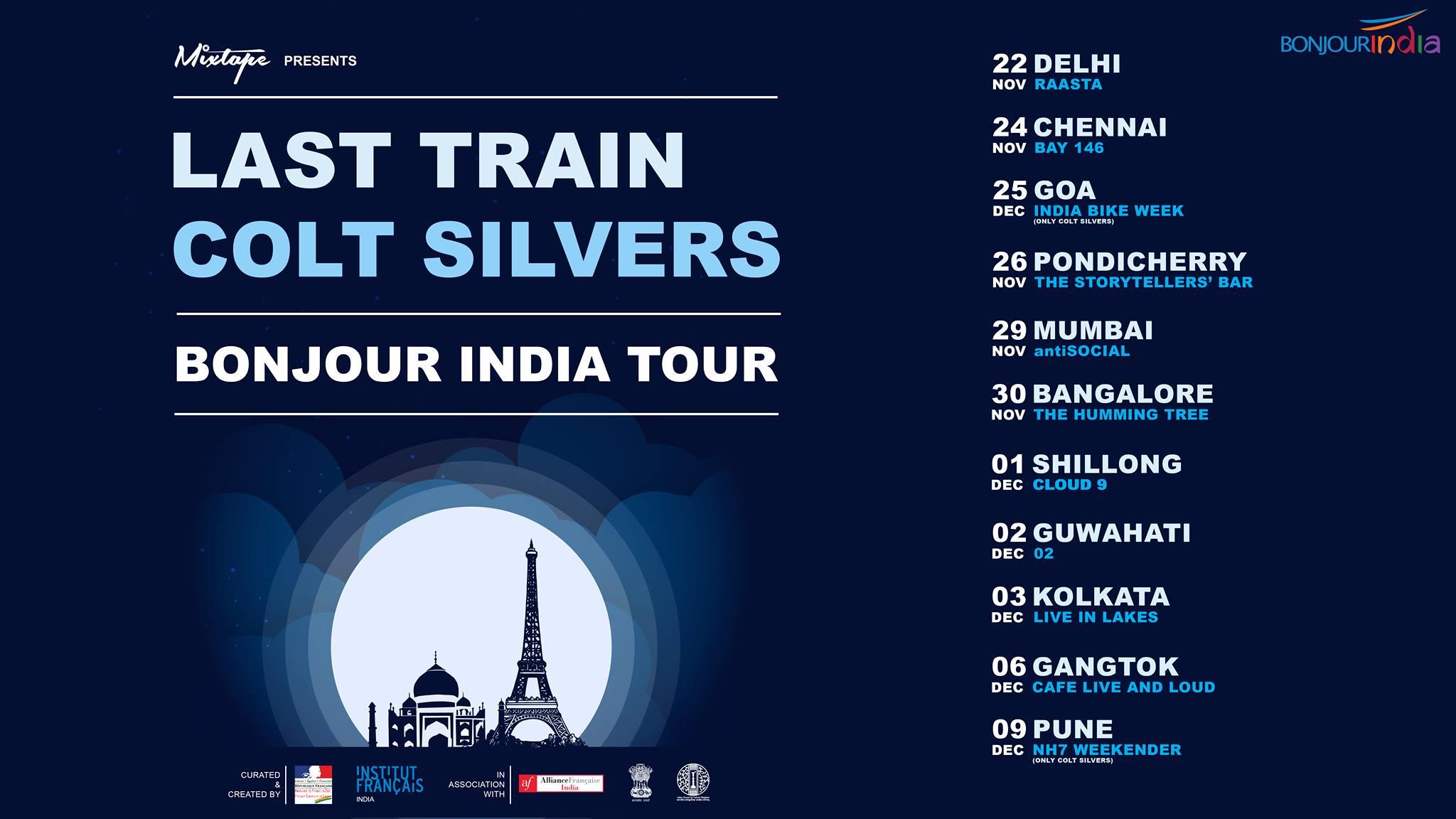 Last Train + Colt Silvers